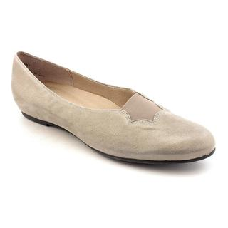 Munro American Women's 'Luna' Regular Suede Casual Shoes (Size 9.5 )