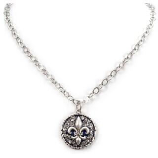 Sweet Romance Fleur de Lis Necklace