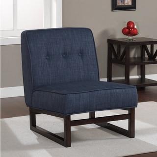Cascade Sleigh Base Navy Chair