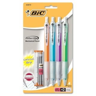 BIC Velocity Mechanical Pencil (Pack of 4)