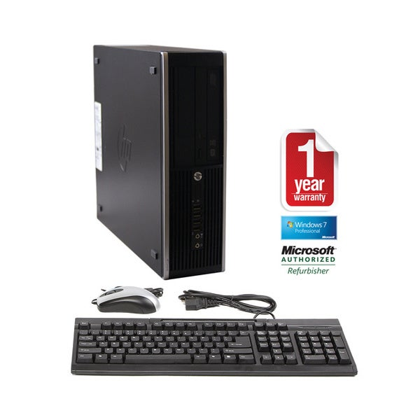 HP 8200 Elite Core i5 3.1GHz 8GB 1.5TB DVDRW Windows 7 Pro 64-bit SFF Computer (Refurbished)
