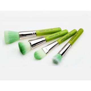 Bdellium Green Bambu Foundation 4-piece Brush Set