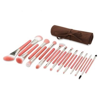 Bdellium Pink Bambu Deluxe 22-piece Brush Set