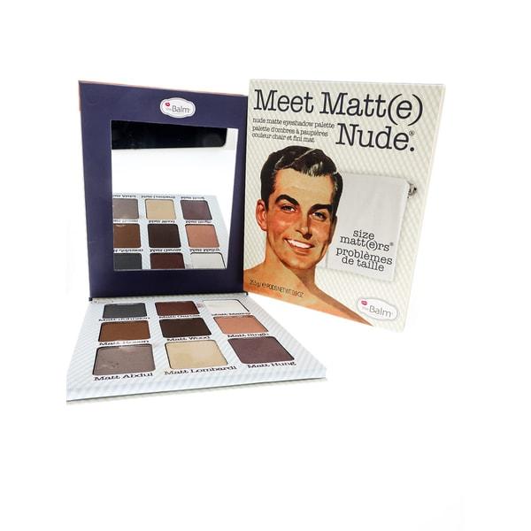 theBalm Meet Matte Nude Eyeshadow Palette 12575355