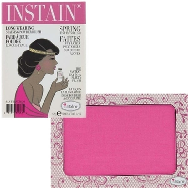 theBalm Instain Lace Long-wearing Staining Powder Blush