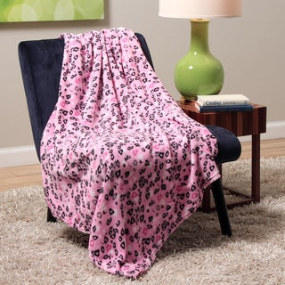 Plush Decorative Lips Throw