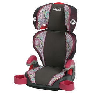 Graco Highback TurboBooster Car Seat in Emille