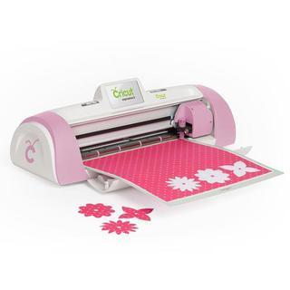 Cricut pink expression 2 cutting machine w 2 preloaded for Die cutting machines for crafts