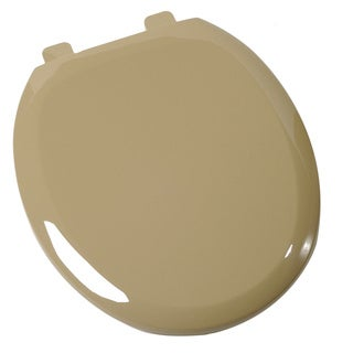 Comfort Seats Round Avocado Easy-close Toilet Seat