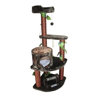 Kitty Mansions Maple Cat Tree Furniture
