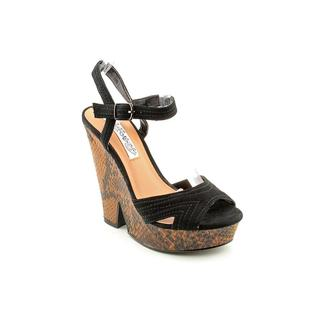 Naughty Monkey Women's 'Fixation' Man-Made Sandals