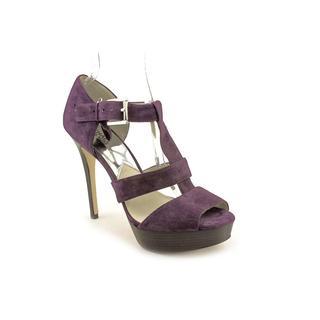Michael Kors Women's 'Eboni Sandal' Leather Dress Shoes (Size 9.5 )