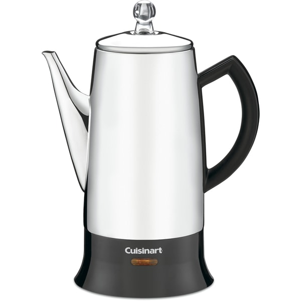 Cuisinart Classic 12-Cup Percolator (Refurbished), Stainless 12576736
