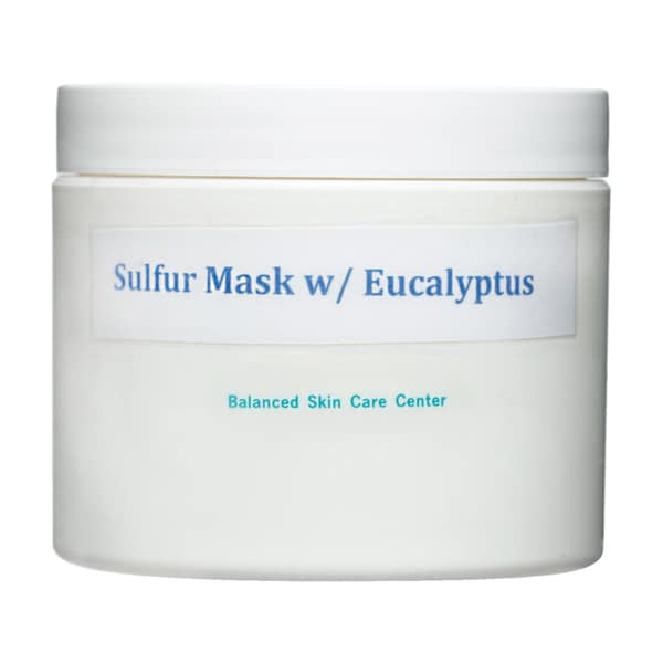 All-natural Eucalyptus and Sulfur Facial Mask