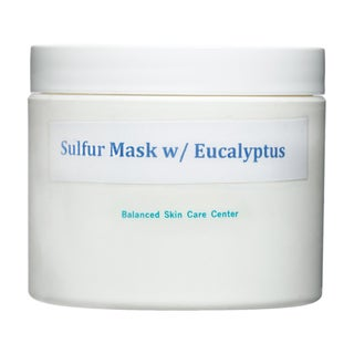 All-natural Eucalyptus and Sulfur Facial Mask