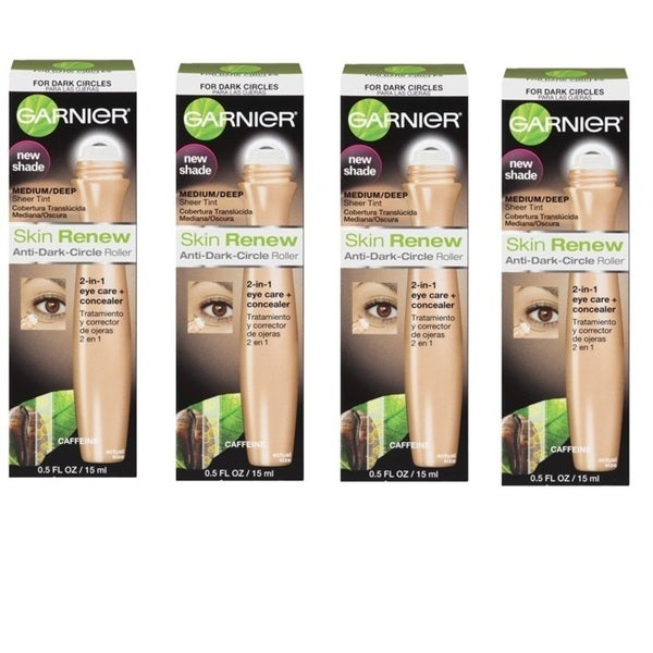 Garnier Skin Renew Anti-Dark Circle Roller (Pack of 4)
