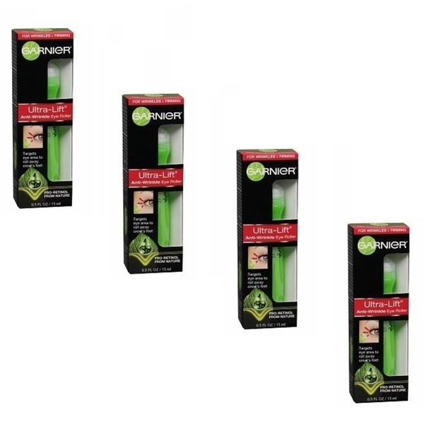 Garnier Ultra-Lift Anti-Wrinkle 0.5-ounce Eye Roller (Pack of 4)