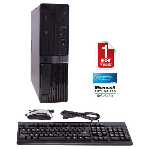 HP DX7500 Core 2 Duo 3.0GHz 4096MB 160GB Win 7 Professional 64-bit SFF Computer (Refurbished)