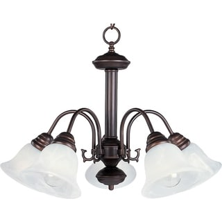 Malaga 5-light Oil Rubbed Bronze Down-light Chandelier