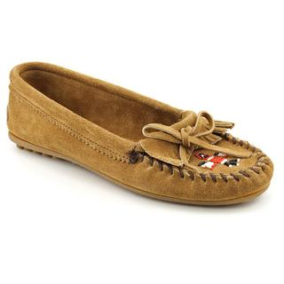 Minnetonka Women's '607T' Regular Suede Casual Shoes