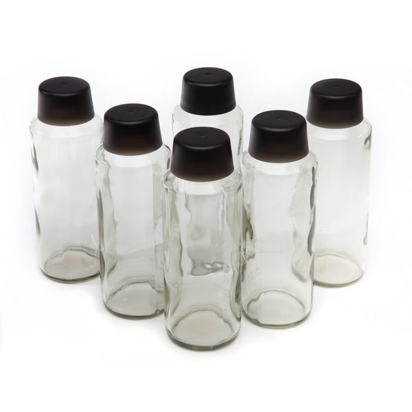 Austin Springs 18-ounce Eco-friendly Glass Bottles (Pack of 6)
