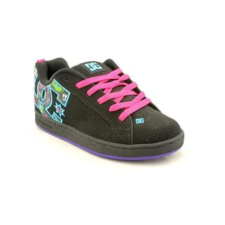 DC Boy (Youth) 'Court Graffik SE' Nubuck Athletic Shoe - Wide (Size 8.5 )