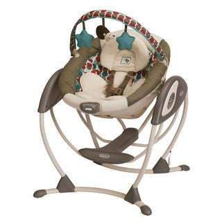 Graco Glider LX Gliding Swing in Happy Hedgehog