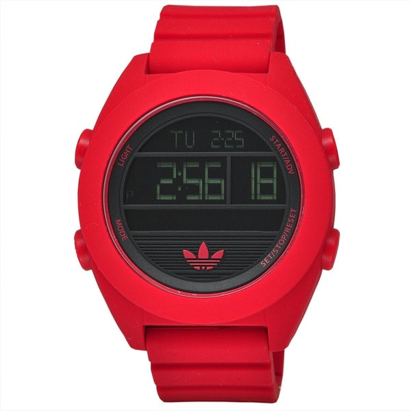Adidas Men's ADH2909 XL Santiago Red Digital Watch