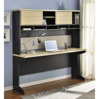 Altra Benjamin Credenza and Hutch Set
