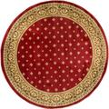 Dallas Red/ Multi Area Rug (7'10 Round)