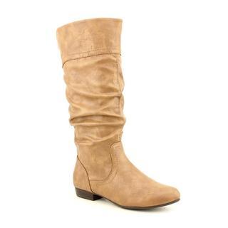 White Mountain Women's 'Cliffs Foliage' Faux Leather Boots (Size 8.5 )