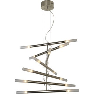 Cavelleto 14-light Brushed Nickel Modern Chandelier