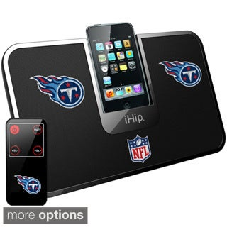 iHip Official NFL Tennessee Titans Portable iDock Wireless Remote Stereo Speaker