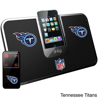 iHip Official NFL Team Portable iDock Wireless Remote Stereo Speaker