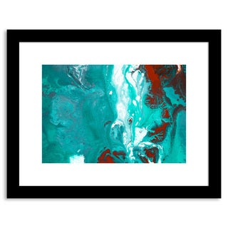 Aqua Splash II Framed Paper
