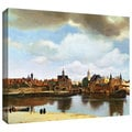 Johannes Vermeer 'View of Delft III' Gallery-Wrapped Canvas
