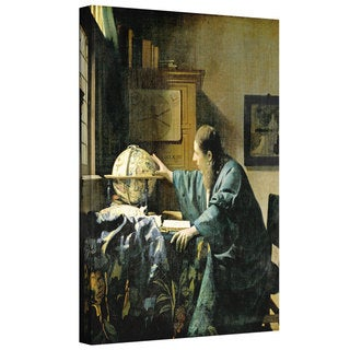 Johannes Vermeer 'The Astronomer' Gallery-wrapped Canvas