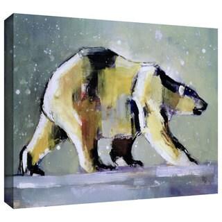 ArtWall Mark Adlington 'Ice Bear' Gallery-Wrapped Canvas