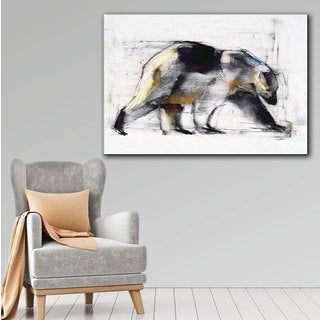 ArtWall Mark Adlington 'Ursus Maritimus' Gallery-Wrapped Canvas
