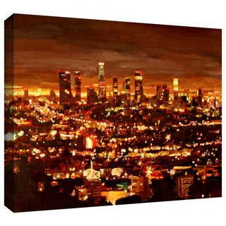 ArtWall Martina & Markus Bleichner 'City of Angels' Gallery-wrapped Canvas