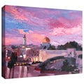ArtWall Martina and Markus Bleichner 'Jerusalem' Gallery-wrapped Canvas Art