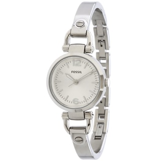 Fossil Women's ES3269 Georgia Silvertone Watch