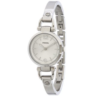 Fossil Women's ES3269 Georgia Silvertone Watch