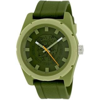 Diesel Men's DZ1594 'Company' Green Silicone Watch
