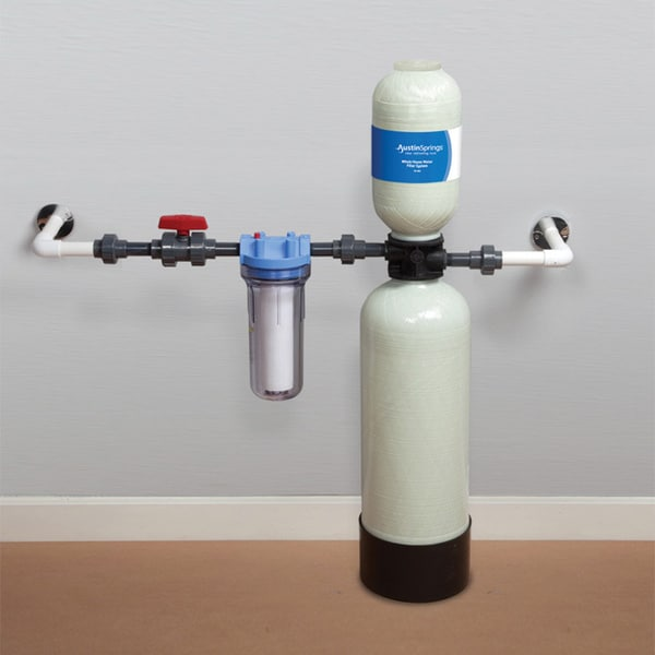 Self cleaning filter for well water self free engine for Pond water filtration systems home
