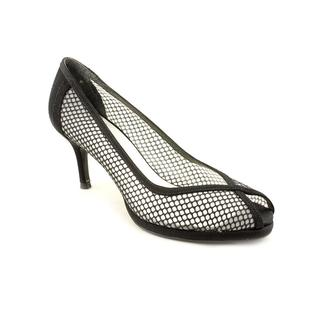 Stuart Weitzman Women's 'Meshin' Satin Dress Shoes