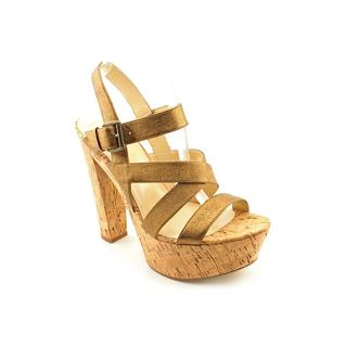 Enzo Angiolini Women's 'Danicio' Leather Sandals