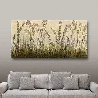 ArtWall Cora Niele 'Wildflowers Amber' Gallery-Wrapped Canvas