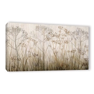 ArtWall Cora Niele 'Wildflowers Ivory' Gallery-Wrapped Canvas