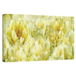 ArtWall Cora Niele 'Yellow' Gallery-Wrapped Canvas